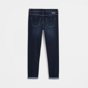 Thermoregulating slim fit jeans