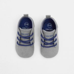 Micro derby baby shoes with laces