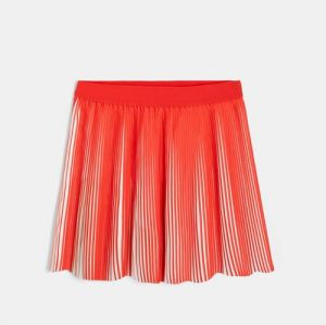 Two-tone pleated skirt 96690