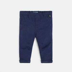 Plain-colored canvas pants959563