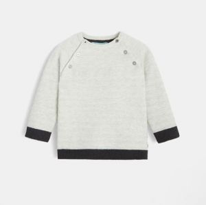 Sailor stripe sweater in organic cotton and wool95953