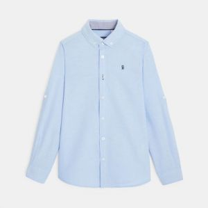Oxford shirt with an American collar97471