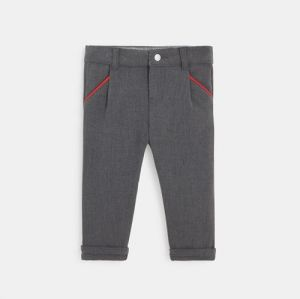 Stretch darted city pants
