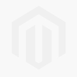 Organic cotton velvet footed sleeper with a printed ladybug motif