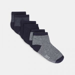 Trendy ankle socks (3-pair set)