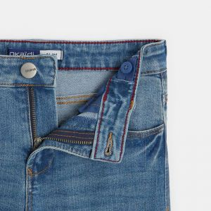 Slim 5-pocket jeans made with organic cotton* denim