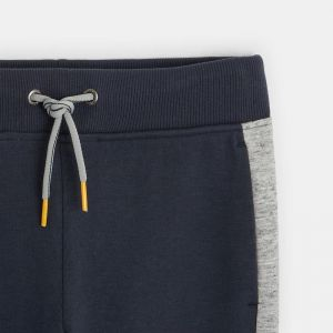 Two-tone jogging pants