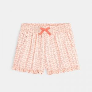 Baggy shorts with a summery print