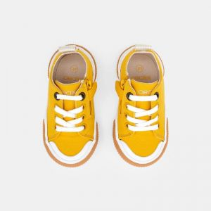 Canvas tennis shoes with laces 650603