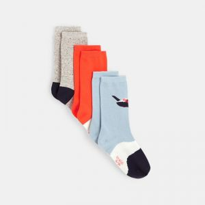 Trendy socks (3-pair set) 99215