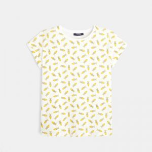 T-shirt with a fish print