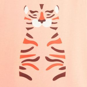 T-shirt with a tiger print