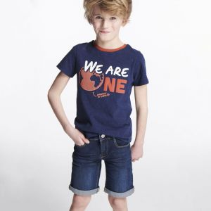 T-shirt in 60% recycled cotton WE ARE ONE