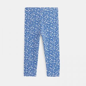 3/4 leggings with a floral print