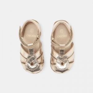 First walking 100% leather sandals 661061
